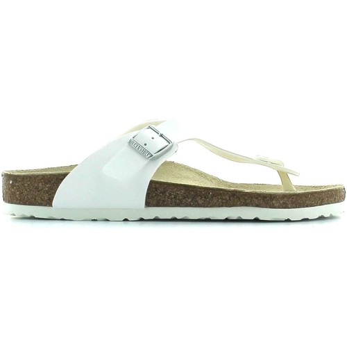 Chaussures Homme Tongs Birkenstock 043731 Tongs Man Weiss Weiss