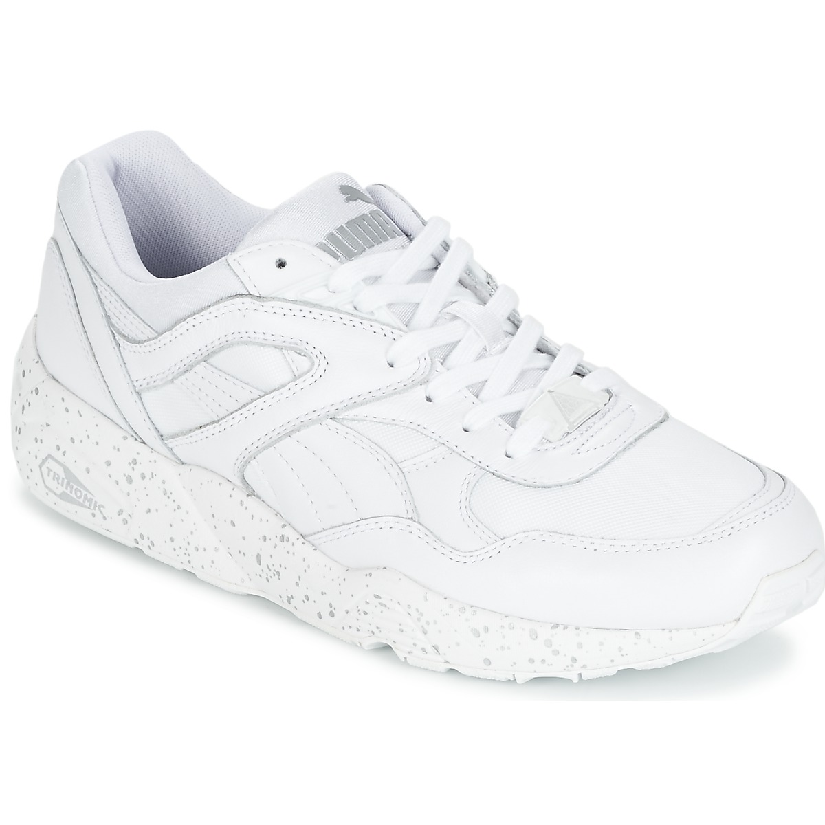 26385bad5b7f Puma R698 SPECKLE Blanc / Argent - Chaussures Baskets basses Homme 56,99 €