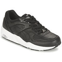 Chaussures Homme Baskets basses Puma R698 CORE LEATHER Noir