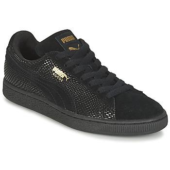 Baskets mode Puma SUEDE GOLD WN'S Noir 350x350