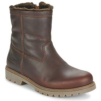 Bottines / Boots Panama Jack FEDRO Marron 350x350