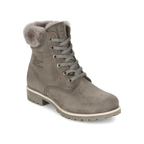 Chaussures Femme Boots Panama Jack PANAMA Gris