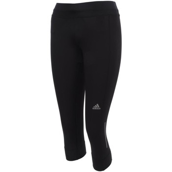 Vêtements Femme Leggings adidas Originals Run 3/4 tight noir lady Noir
