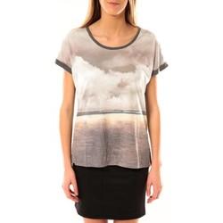 Vêtements Femme T-shirts manches courtes Vero Moda Cloud SS Top 10096122 Gris Gris