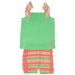 Vêtements Garçon Ensembles enfant adidas Originals Ensemble  Beach Set Vert