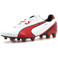 Chaussures Homme Football Puma King SL FG White