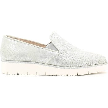 Chaussures Femme Slips on Grace Shoes AA72 Slip-on Femmes Gris Gris