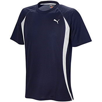 Vêtements Homme T-shirts manches courtes Puma Short Sleeve Tee Navy