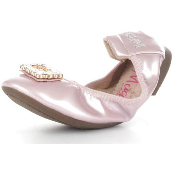 Chaussures Fille Ballerines / babies Lelli Kelly 9740 Ballerines et Mocassins Fille Gold Rose Gold Rose
