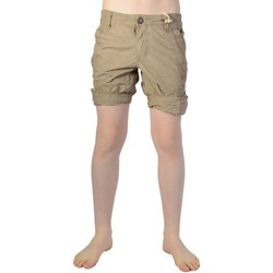 Vêtements Garçon Shorts / Bermudas Petrol Industries B-SS16-SHO500 Dark Tobacco 743 Marron