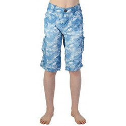 Vêtements Garçon Shorts / Bermudas Petrol Industries Short  Enfant B-SS16-SHO572 519 Blue Lagoon Bleu