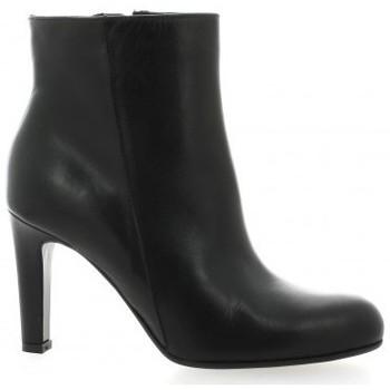 Chaussures Femme Boots Donna Più Boots cuir Noir