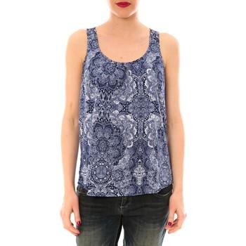 Vêtements Femme Débardeurs / T-shirts sans manche Little Marcel Litlle Marcel Trevor Bleu Marine imprimé Bleu