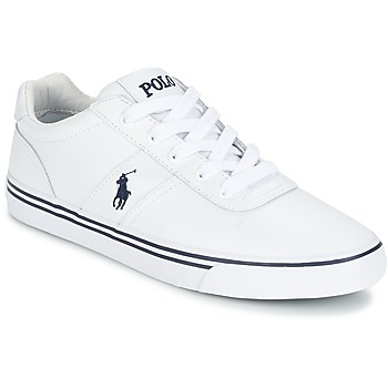 Chaussures Homme Baskets basses Polo Ralph Lauren HANFORD Blanc
