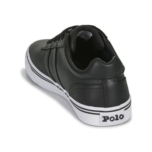 Noir Basses Lauren Chaussures Hanford Polo Baskets Homme Ralph mN0nv8w