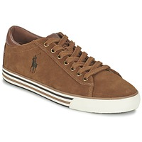 Chaussures Homme Baskets basses Polo Ralph Lauren HARVEY Cognac