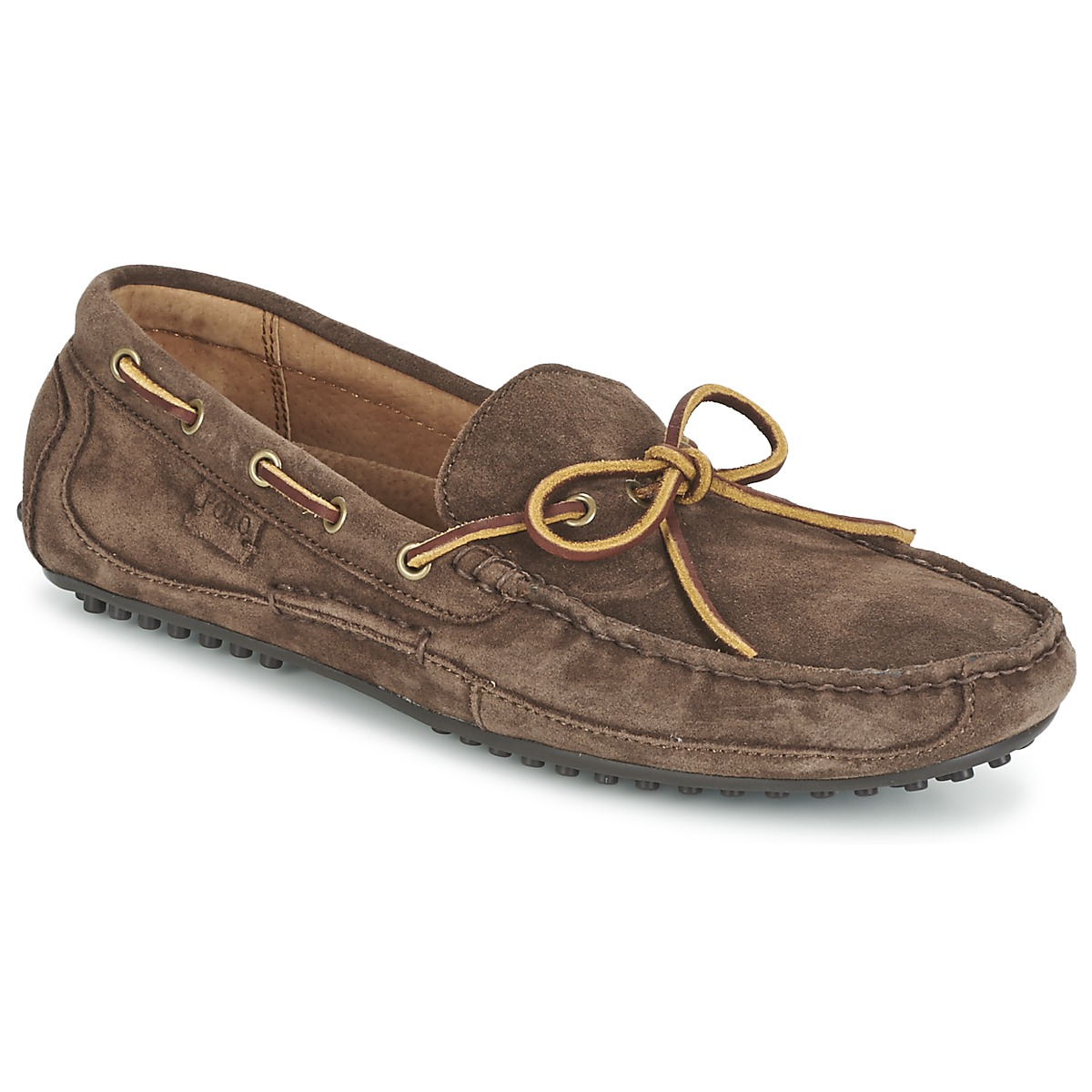 Mocassins Ralph Lauren WYNDINGS Marron