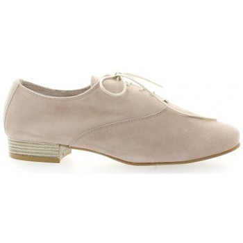 Chaussures Femme Derbies Pao Derby cuir velours Poudré