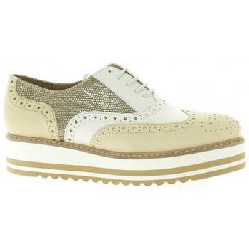 Chaussures Femme Derbies Exit Derby cuir Beige