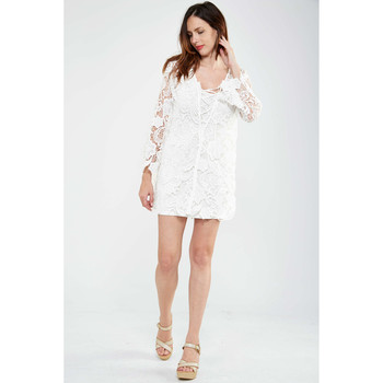 Robes courtes Fracomina Robe  Altea Ecru Femme