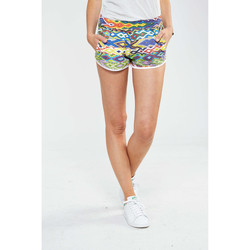Vêtements Femme Shorts / Bermudas American College Short Graphique Sweedy W  Multicouleurs Multicolor