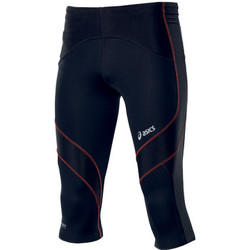 Vêtements Homme Leggings Asics Leg balance knee tight Noir / Orange