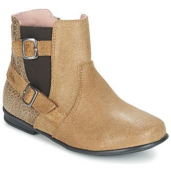 Bottines / Boots Aster DESIA Beige 350x350