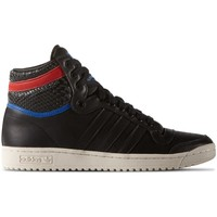 Chaussures Homme Baskets montantes adidas Originals Top Ten HI Clean Iconics Noir-Rouge-Blanc