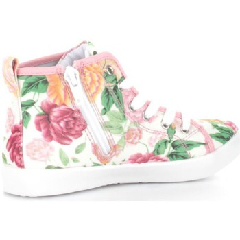 new arrival 2d37f 7dd73 Chaussures Enfant Baskets montantes Lelli Kelly 9278 Fille White Pink  White Pink