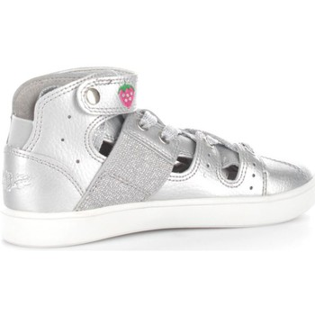 Chaussures Enfant Baskets basses Lelli Kelly 6330 Basket Fille Silver Silver