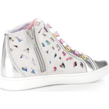 Chaussures Enfant Baskets montantes Lelli Kelly 9290  Fille Silver Silver