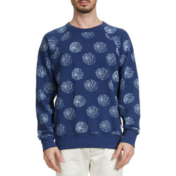 Vêtements Homme Sweats Obey Sweat Shirt  Mulholland Indigo Homme Marine