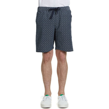 Vêtements Homme Shorts / Bermudas Obey Short  Traveler Grain Marine Homme Marine