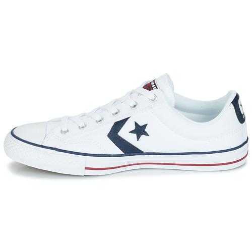 Baskets Star Converse Blanc Player Basses Ox GqULMSpzV