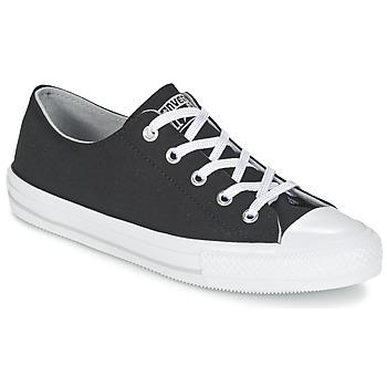 Chaussures Femme Baskets basses Converse GEMMA TWILL OX Noir