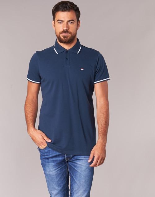 Vêtements Homme Polos manches courtes Casual Attitude EPIDIN Marine