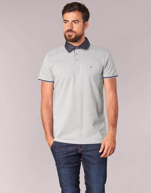 Vêtements Homme Polos manches courtes Casual Attitude EFOLI Gris