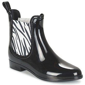 Chaussures Femme Bottes de pluie Be Only BEATLE Noir