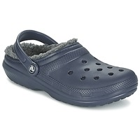Chaussures Sabots Crocs CLASSIC LINED CLOG Marine / Gris