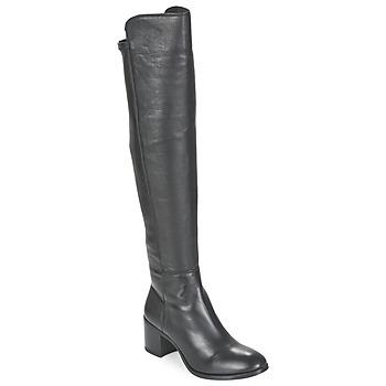Chaussures Femme Bottes ville Unisa FARIA Noir