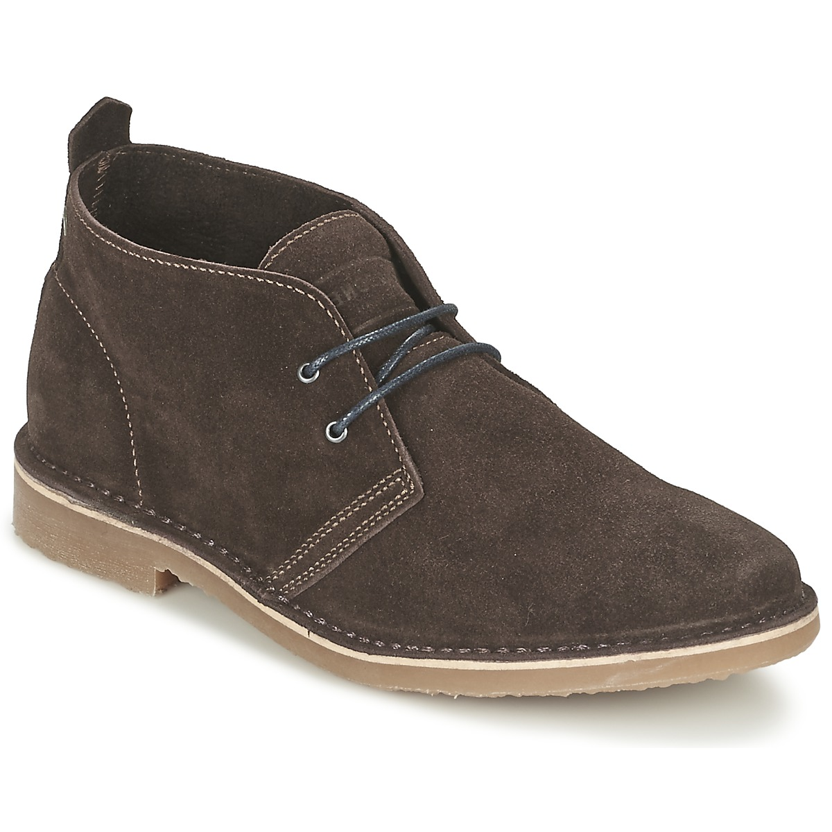 Jack & Jones GOBI SUEDE DESERT BOOT Marron