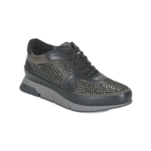 Chaussures Femme Baskets basses Luciano Barachini OXFORD Noir / Gris