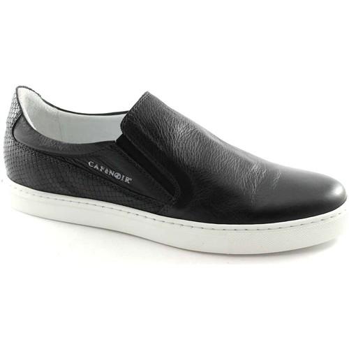 Chaussures Homme Mocassins Café Noir CAF NOIR PG122 homme noir glissement sur les chaussures espadril Nero
