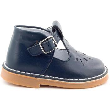 Chaussures Fille Sandales et Nu-pieds Boni Classic Shoes Boni Mini Henry - Sandales enfant Bleu Marine