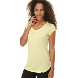 Vêtements Femme T-shirts manches courtes adidas Originals T-shirt  Pb Casual Tee Jaune
