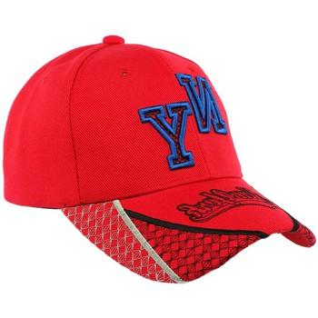 Accessoires textile Homme Casquettes Hip Hop Honour Casquette Baseball NY Rouge et Bleue Stan Rouge