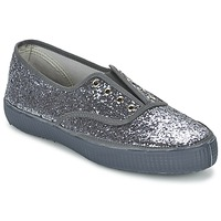 Chaussures Femme Baskets basses Chipie JOSS GLITTER Anthracite