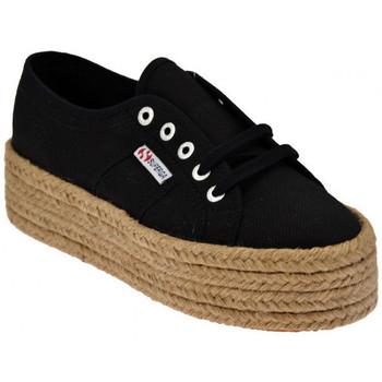 Chaussures Femme Espadrilles Superga 2790 Cotropew Zeppa Cordura Baskets basses