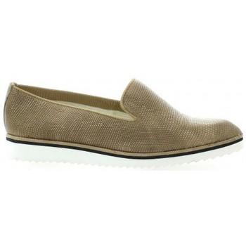 Chaussures Femme Mocassins Elizabeth Stuart Mocassins cuir python Taupe