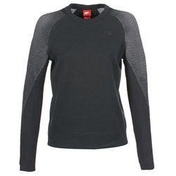 Vêtements Femme Sweats Nike TECH FLEECE CREW Noir